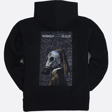 [NOT4NERD]Girl with a mask Pullover Hood-Black