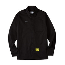 [ATAR] PSLN SYNC OXFORD SHIRT - BLACK