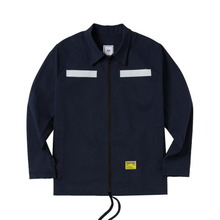 [ATAR] PSLN SYNC HARRINGTON JACKET - NAVY