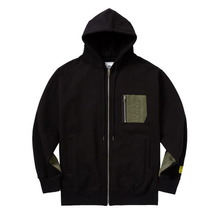 [ATAR] PSLN SYNC ZIP UP HOOD - BLACK