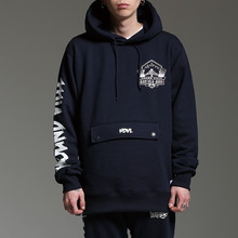 [HOUNDVILLE]WATERPROOF ZIP hoody navy