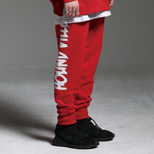 [HOUNDVILLE] 40%할인 WATERPROOF ZIP sweat pant red