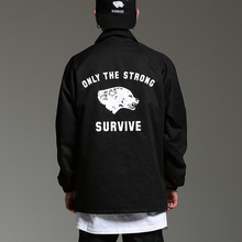 [HOUNDVILLE] 40%할인 SURVIVE coach jacket black