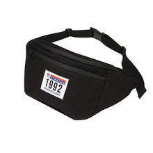 [HOUNDVILLE]1992 STADIUM WAIST bag black