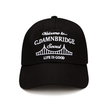 [HOUNDVILLE]BRIDGE ballcap Black