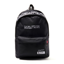 [I am Not a Human Being X The Earth] 486920 DAY PACK - Black