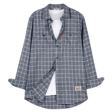 [THEDOSI] (남여공용) Classical Check Shirt-Blue Lake