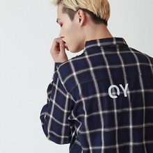 [20%할인][OY] CHECK SHIRTS - BLUE