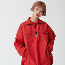 [OY] OY HALF ZIP JK - RED