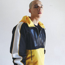 [MADMARS]COLORBLOCK ANORAK_YELLOW