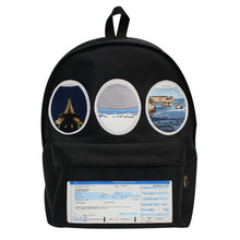 [EASY BUSY] Flight Window Backpack - Black