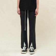 [SLEAZY CORNER] OPEN SLIM PANTS-CHARCOAL