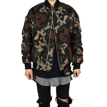 [Xsacky] Sacky 2way Shirring MA-1 Jacket - Camo