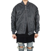 [Xsacky] Sacky 2way Shirring MA-1 Jacket - Urban Gray