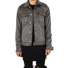 [Xsacky] Sacky Suede Jacket - Dark Grey
