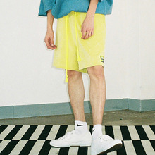 [AJOBYAJO] Corduroy Short Pants (Lime)
