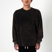 [EPTM] SUPER BLAST LS BOX TEE (BLACK)