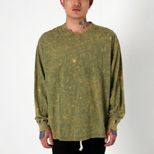 [EPTM] SUPER BLAST LS BOX TEE (HERB GREEN)