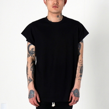 [EPTM] BACK SEAM MUSCLE TEE (BLACK)
