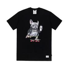 [STIGMA]BULL DOG T-SHIRTS - BLACK