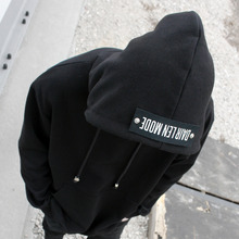 [Dair Len Mode] Back point hood(black)