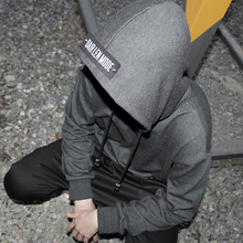 [Dair Len Mode] Back point hood(deep gray)