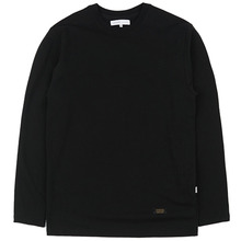 [LOKWARD] SIMPLE L/S TEE - BLACK
