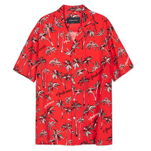 [Anderssonbell]CALIFORNIA ALOHA SHIRT atb113m - Red