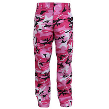 [Rothco] Color Camo Tactical BDU Pant - Pink Camo