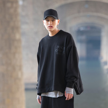 [ 30%할인][DUCKDIVE] R.O.S.Z SWEAT SHIRTS- BLACK
