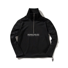 [ANTIMATTER]Half Zip Anorak-Black