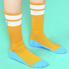 [위빠남] OUI PANAME LINE SOCKS(ORANGE)