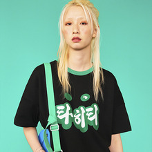 [위빠남] TAHITI T-SHIRT(BLACK)