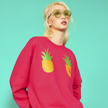 [위빠남] PINEAPPLE SWEATSHIRT(FUSCHIA PINK)
