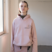 [RUNNINGHIGH] Pull-over Hood Sweat Shirts - Pink,Navy