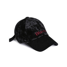 [WANTON] vol.1 velvet ballcap black