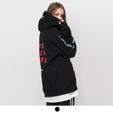 [ACOVER][3월29일예약배송] 2ND PUG OVER HOODIE BLACK