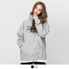 [ACOVER][3월30일예약배송] 2ND BURN PRINTING OVER FIT TUMBLE HOODIE