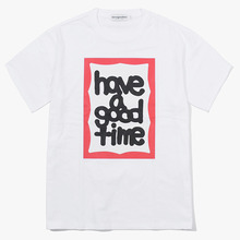 [Have a good time] Fat Frame S/S Tee - White