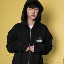 [Do'LM] Lighthouse Hoodie zipup - BLACK