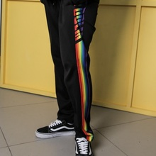 [DoLM] Rainbow training pants - BLACK