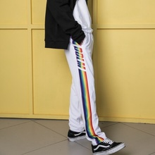 [DoLM] Rainbow training pants - WHITE
