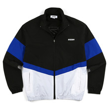 [GOZER] ZIP UP TRACK TOP_BLACK&BLUE