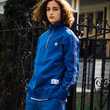 [Bornchamps] BC TAPE SWEATSHIRTS - BLUE