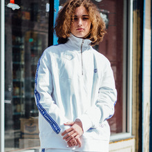 [Bornchamps] BC TAPE SWEATSHIRTS - WHITE