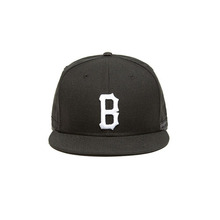 [BLACKSCALE] BVLLISTIC B LOGO FITTED NEW ERA BLACK