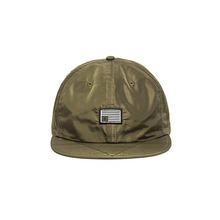 [BLACKSCALE] MA-1 NYLON SNAP BACK NEW ERA OLIVE