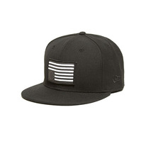 [BLACKSCALE] REBEL FLAG PATCH FITTED NEW ERA