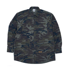 [GRASSHOPPER] Slogan Shirt - Camo