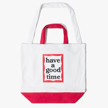 [Have a good time] 2 Way Tote Bag - Red